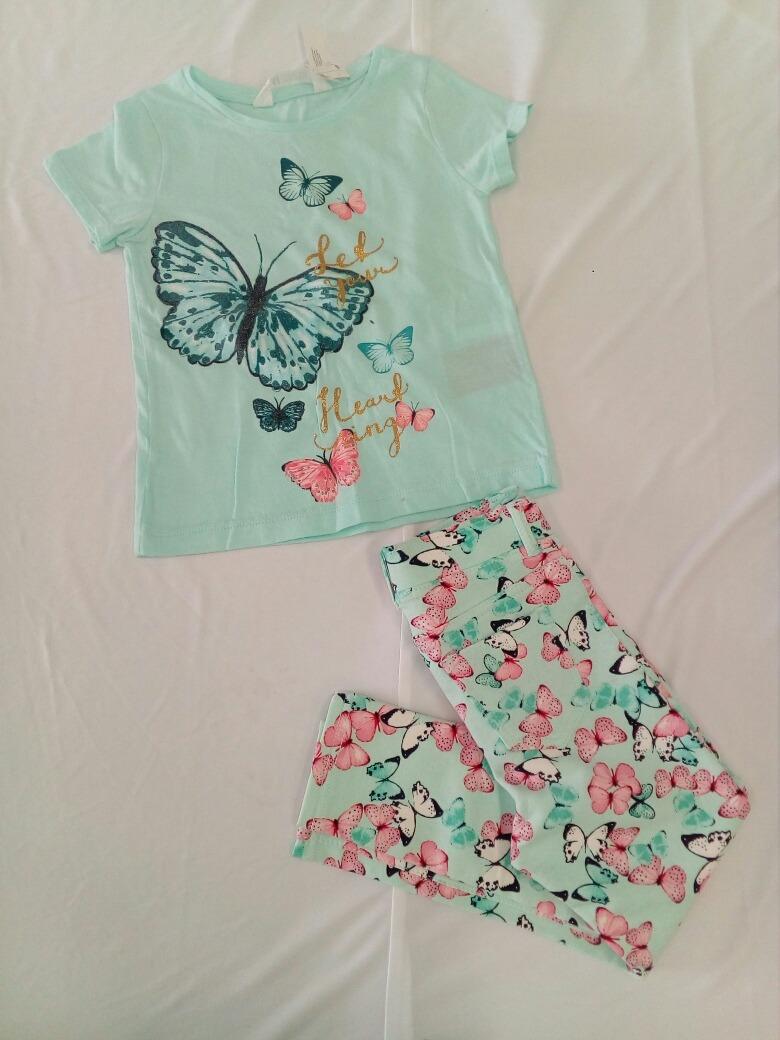 4f0ce10eb conjunto blusa pantalon para niña h&m.* la segunda bazar. Cargando zoom.