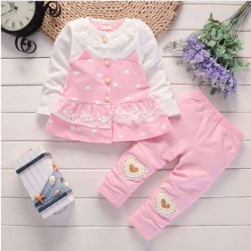 b433b5ebc Conjunto Blusa + Pantalón Para Niñas - $ 46.900 en Mercado Libre