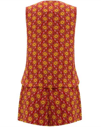 conjunto blusa regata e shorts em viscose seiki 570004
