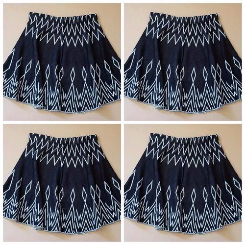 conjunto blusa + saia estampa etnica blogueira frete gratis