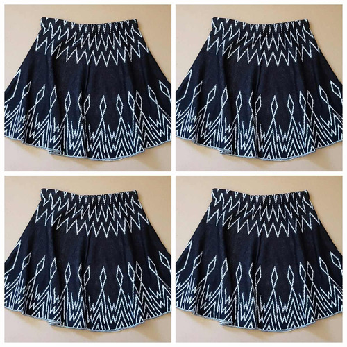 conjunto blusa +saia estampa etnica blogueira frete gratis