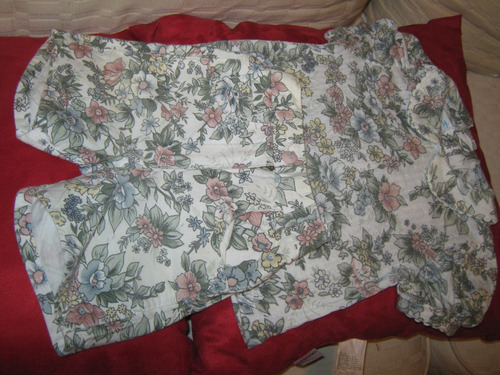 conjunto blusa/bermuda t-1 año