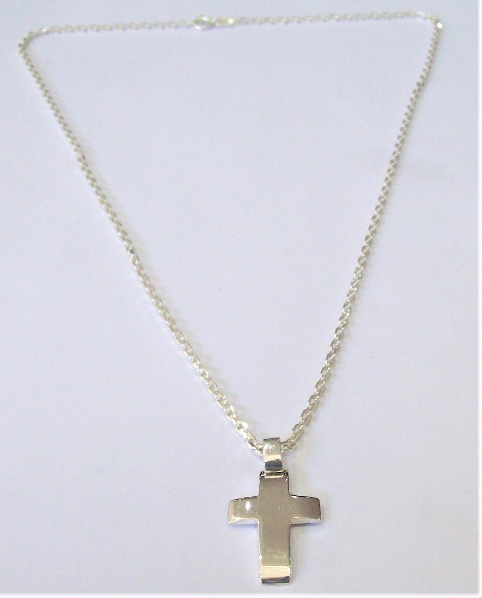 ef3a9d67044b conjunto cadena y cruz med bombé maciza plata 925 envío. Cargando zoom.
