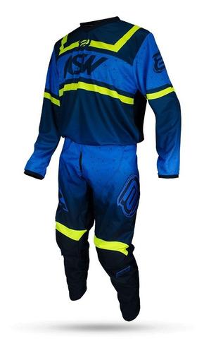 conjunto calça + camisa asw factory limited