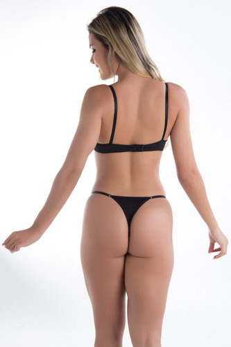 conjunto calcinha sexy e sutiã de renda langerie feminina