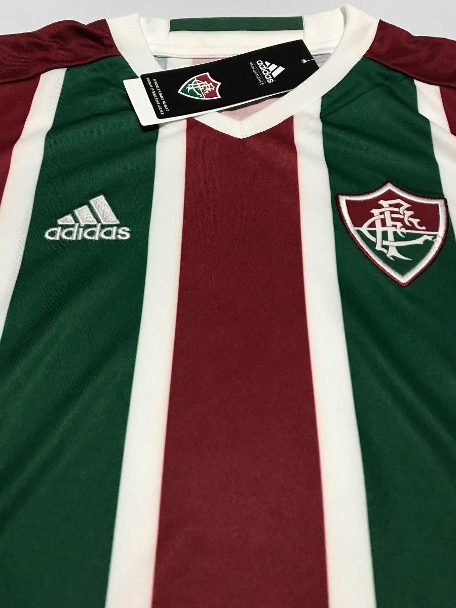 Conjunto Calção + Camisa Infantil Fluminense adidas Kit - R  129 e405cbc88320c