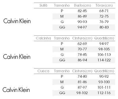Conjunto Calvin Klein Calcinha+cropped Box Promoção Imbative - R  68 ... 441c24913c