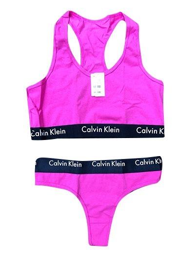 Conjunto Calvin Klein - Calcinha E Sutiã - Promoção - 10 - R  120 86a634fdef8