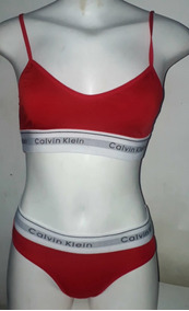 628afdc24 Conjunto Lingerie Calcinhas + Sutiã Calvin Klein - Moda Íntima e ...