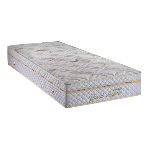 conjunto cama box colchão solteiro grand support ecoflex