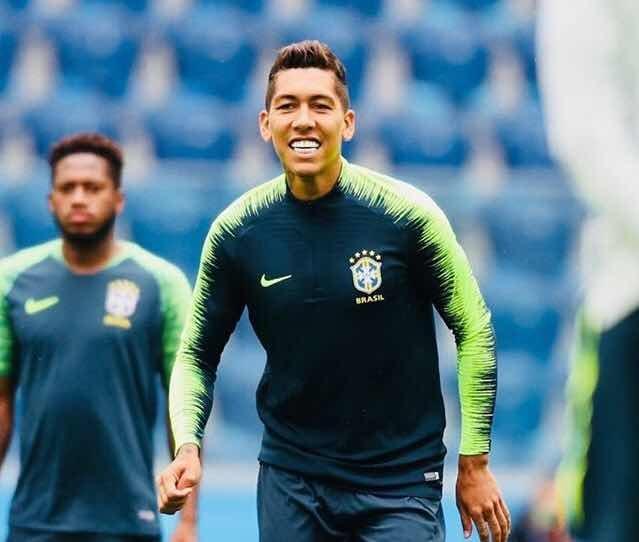 3c78b9aae54a8 Conjunto Camisa + Calça Treino Nike Brasil Drill Masculina - R  329 ...