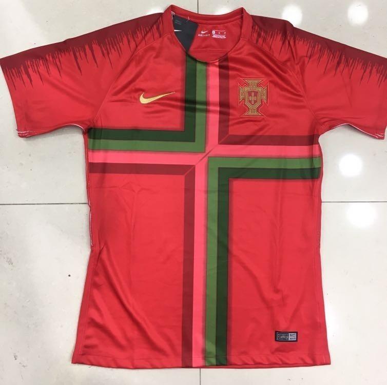 Conjunto Camisa E Shorts Seleção De Portugal Adulto Nike - R  190 140b37388b738