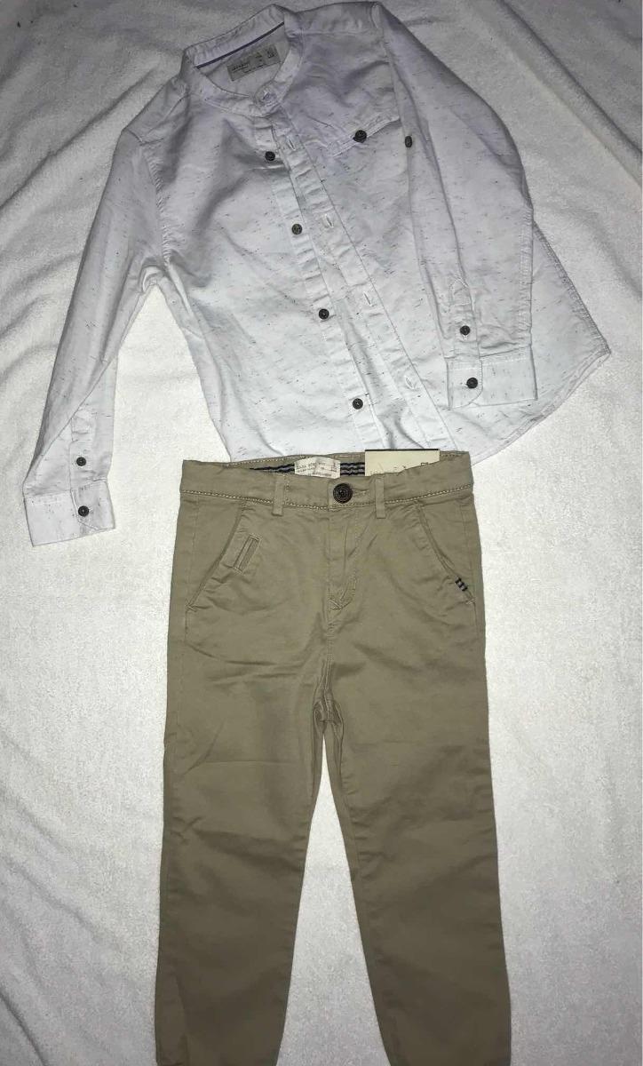 Conjunto Camisa Chupin Niño Vestir Años Pantalon Zara Marc 5 rrxwpA