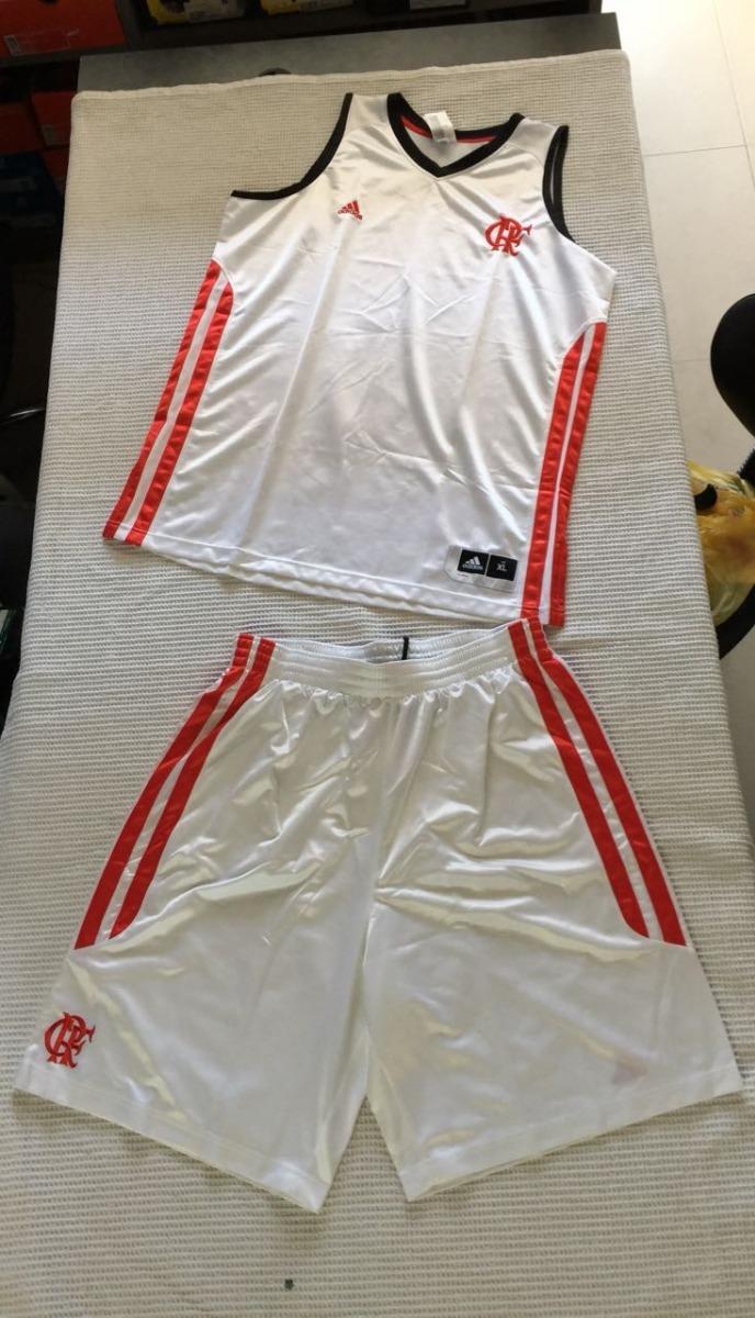 conjunto   camisa + short basquete original flamengo adidas. Carregando  zoom. d44c70fa9fb53