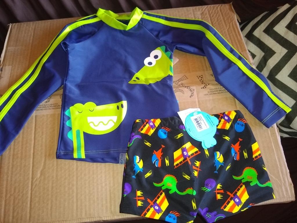 e50d1d4e7 Conjunto Camisa +sunga Puket - R$ 85,00 em Mercado Livre