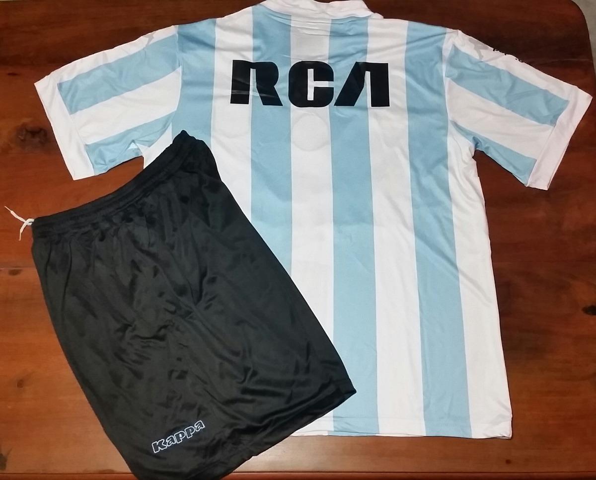 conjunto camiseta + short titular - racing club 2017. Cargando zoom. f4172737b6800