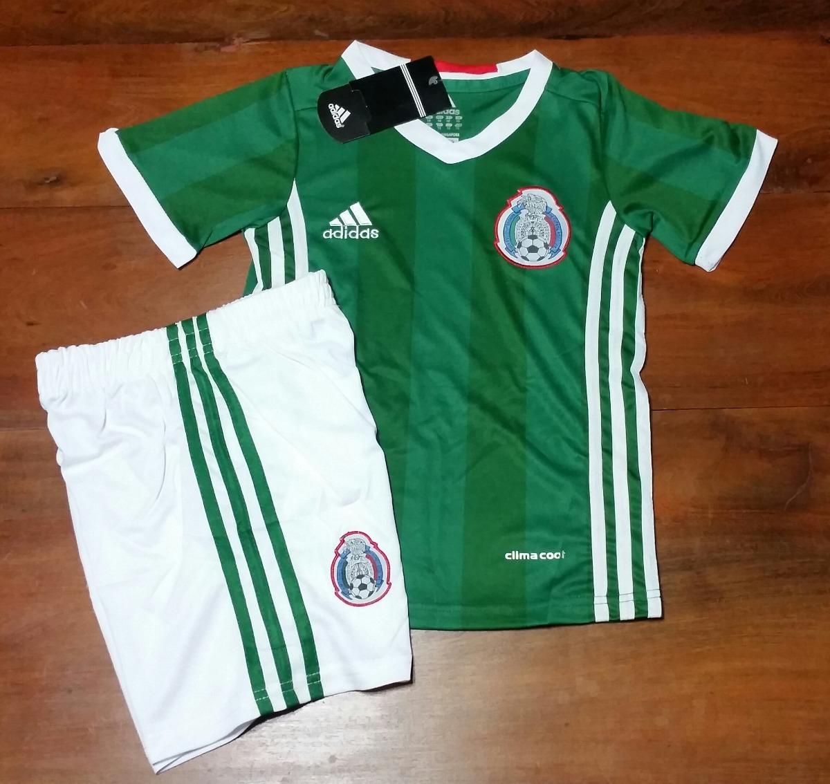 conjunto camiseta + short titular - seleccion mexico   niños. Cargando zoom. e6d754053c1e8
