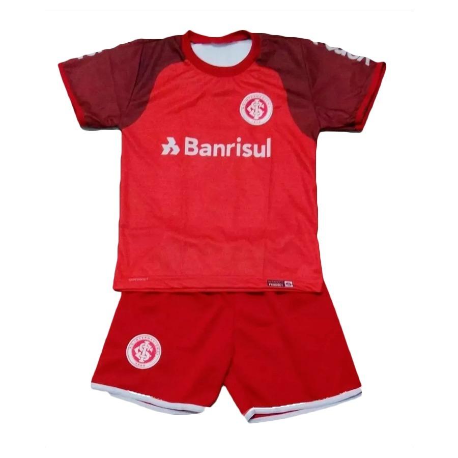 conjunto camiseta + shorts infantil internacional uniforme. Carregando zoom. 9d6cabe10fe68