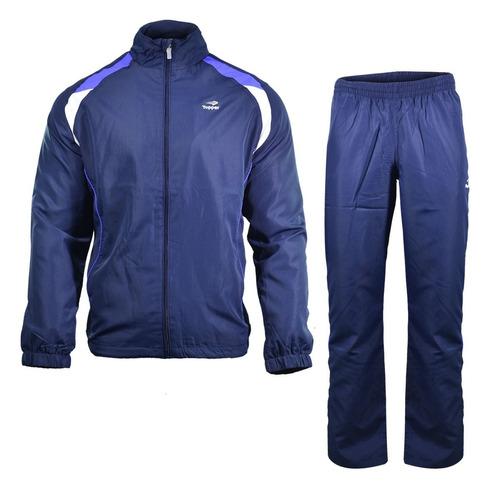 conjunto campera pantalon topper tenis mens azul