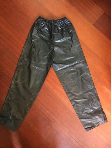 conjunto capa de chuva motoqueiro - feminina - tam. m - alba