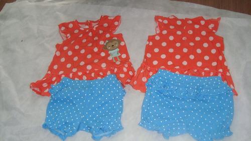 conjunto carters 2 peças menina 3-6 months