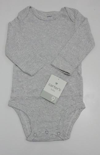 conjunto carter's - 3 peças, colete  +body +calça - original