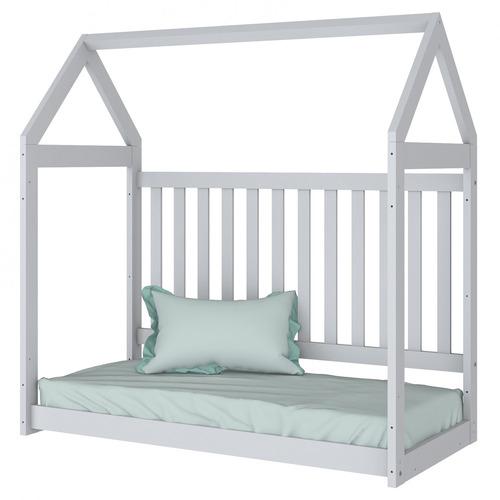 conjunto casinha berço mini cama e nichos faz de dg