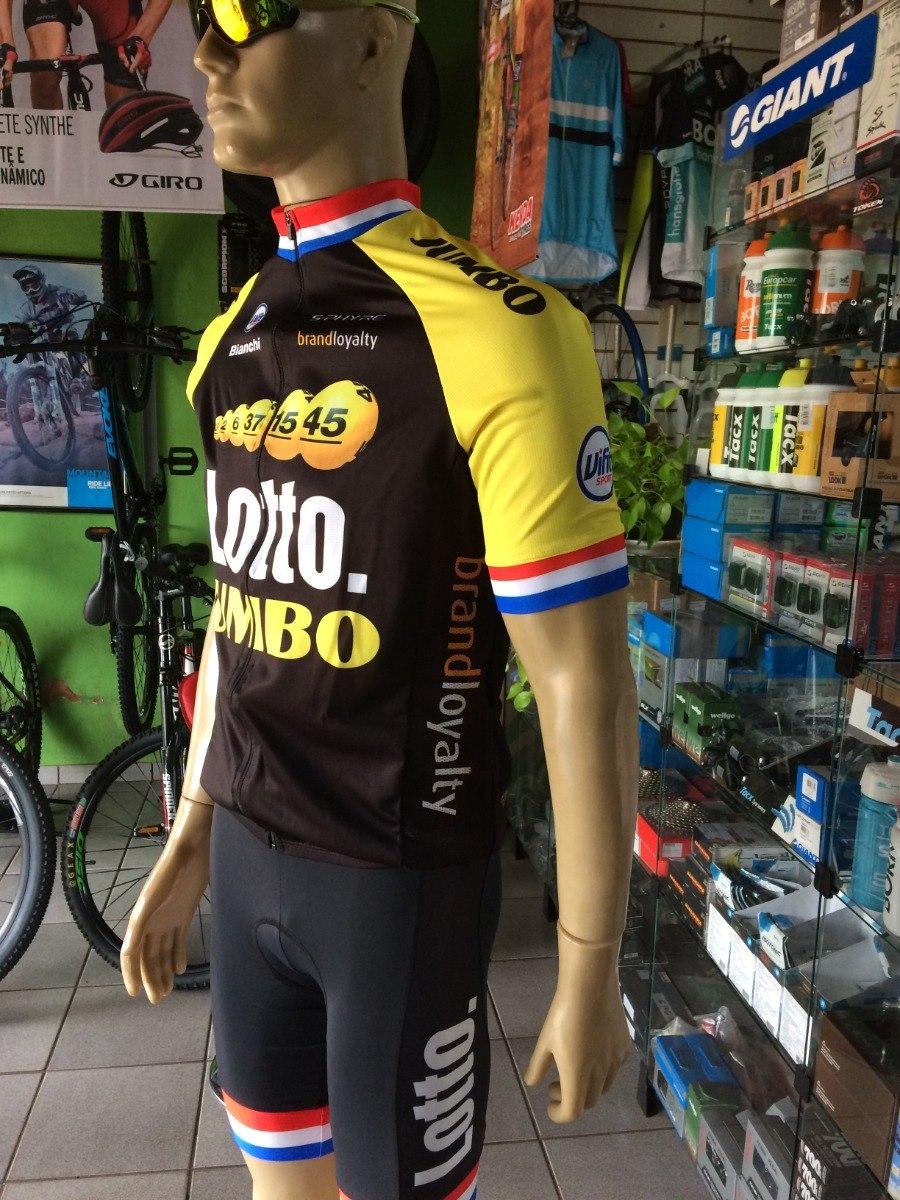 conjunto ciclismo barbedo camisa + bretelle lotto jumbo. Carregando zoom. 9b0263e979c54