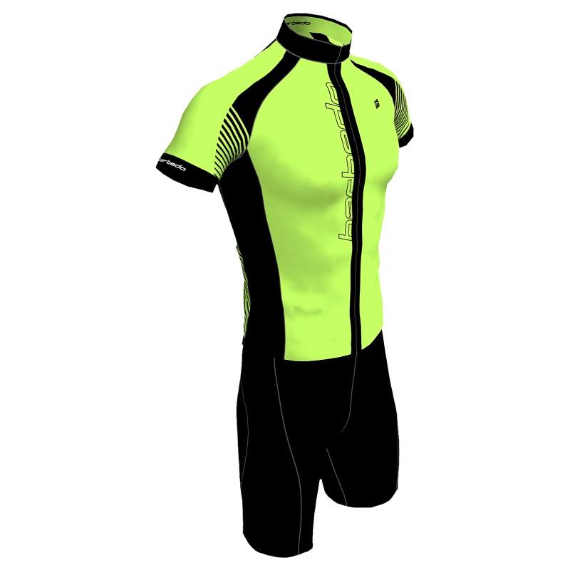 conjunto ciclismo barbedo stradda amarelo neon. Carregando zoom. c989e90121234