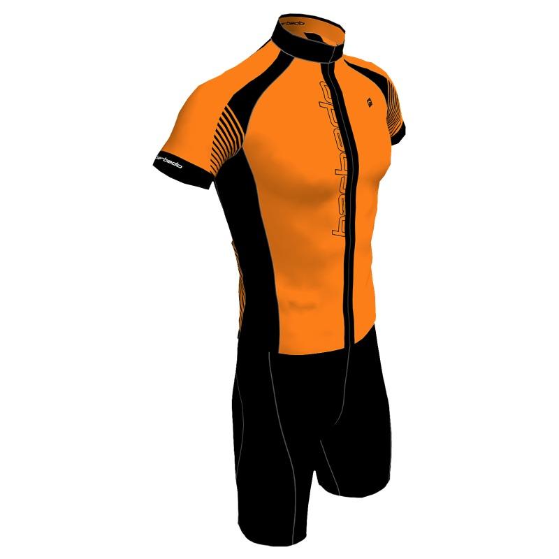 conjunto ciclismo barbedo stradda laranja neon. Carregando zoom. e9ab9cfbe4e70