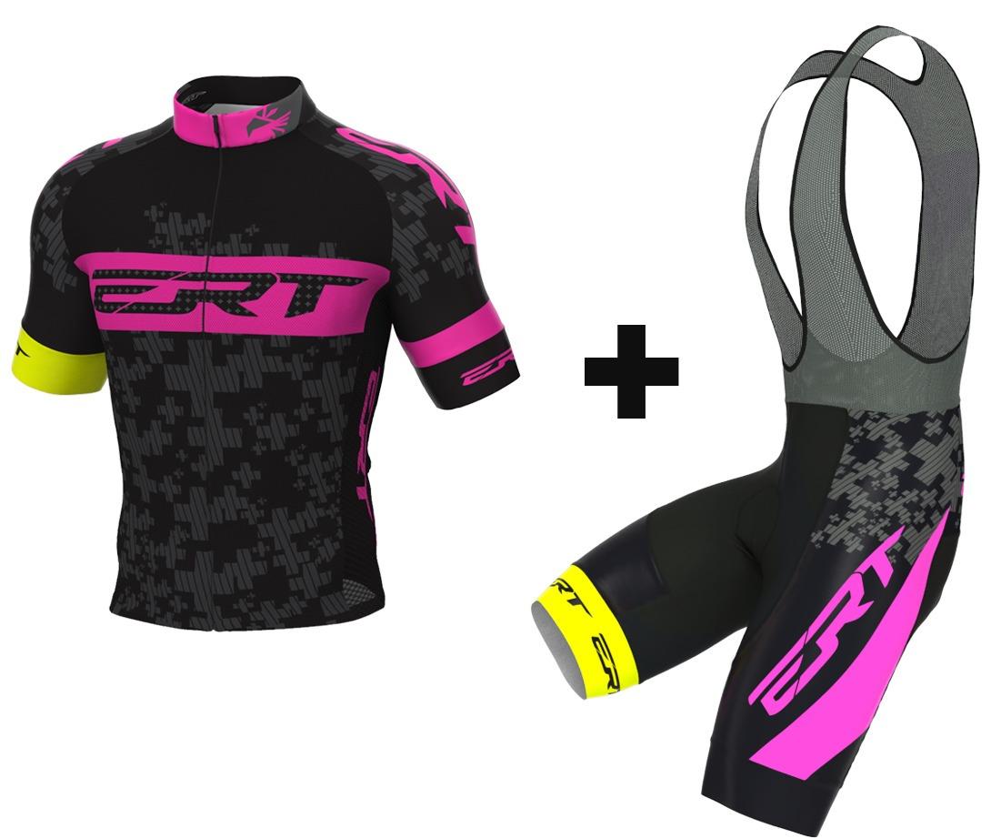 102d247fed conjunto ciclismo bretelle e camisa ert elite tam m brinde. Carregando zoom.