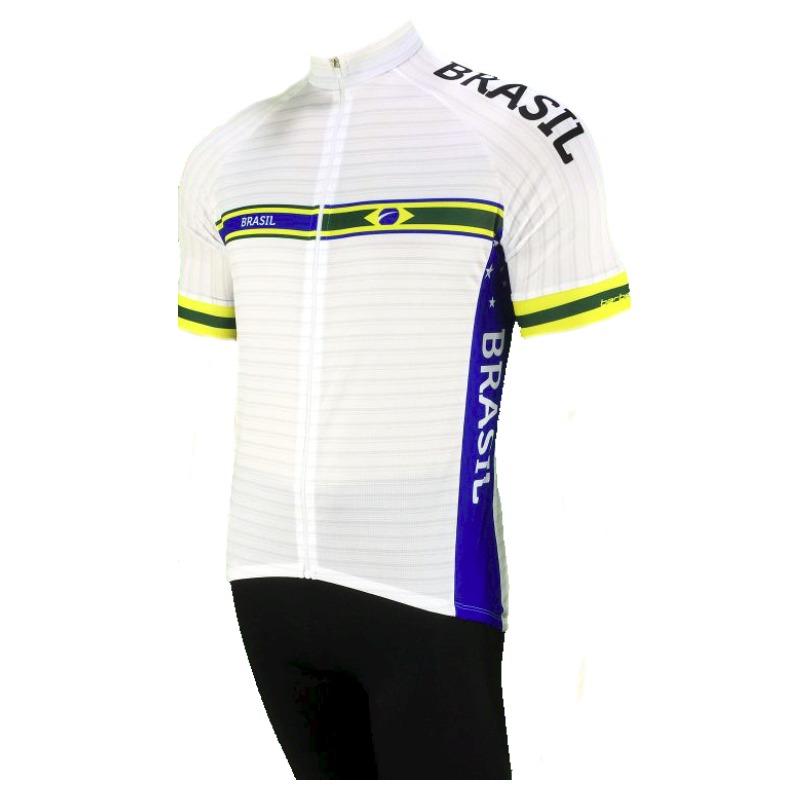 7dbfff4410 conjunto ciclismo camisa + bermuda barbedo brasil 2017. Carregando zoom.