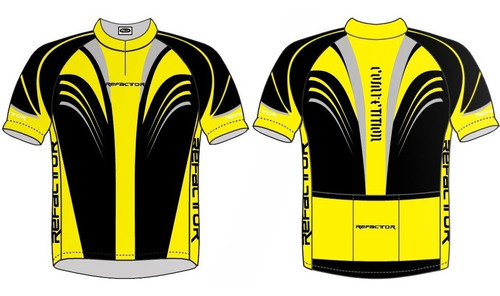 conjunto ciclismo competition cj900 - refactor - amarela - m