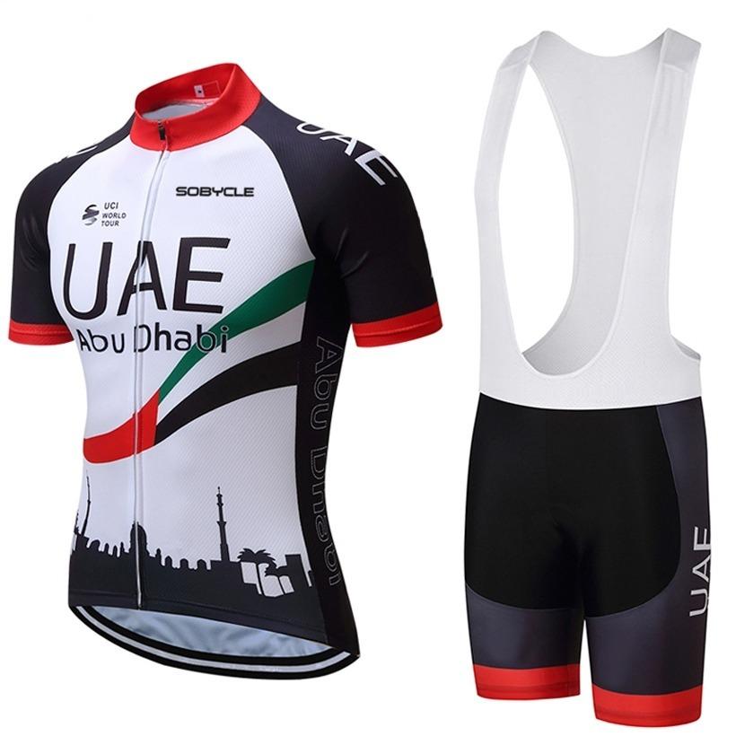 744b91057ad3d conjunto ciclismo masculino camisa + bretelle uae - bike. Carregando zoom.