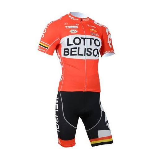 conjunto ciclismo tricota + malla lotto belisol oferta nuevo
