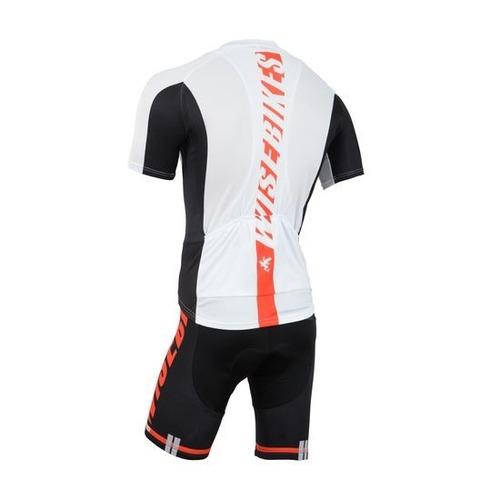 conjunto ciclismo tricota + malla wb red line nuevo