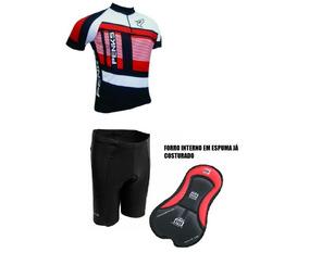 99b6ac2e4 Conjunto Ciclista Masculino Melhor Preço Gg - Ciclismo no Mercado Livre  Brasil