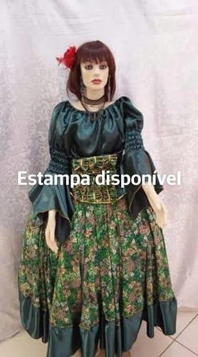 conjunto  ciganas roupas de santo/orixás umbanda/candomblé