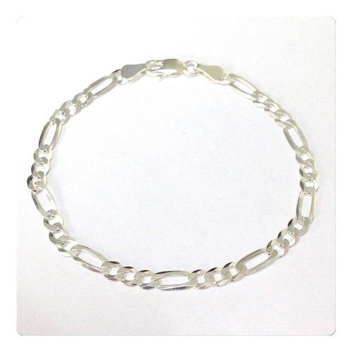 conjunto clássico corrente pulseira prata 925 cordão de 60cm