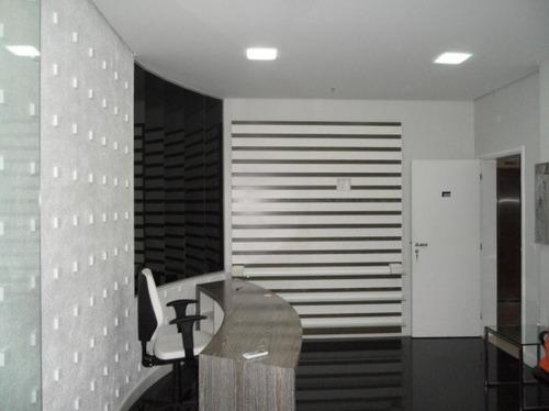 conjunto comercial 157 m²mobiliado e decorado  são caetano - 826