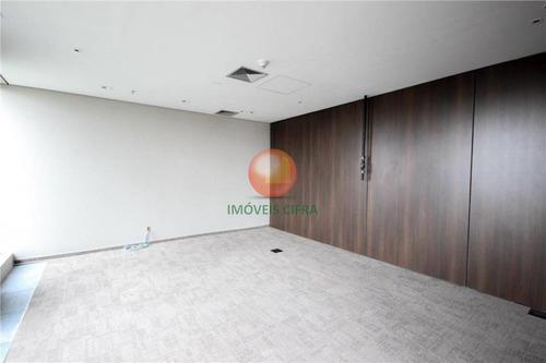 conjunto comercial 175 m2 - 05 vagas - cidade jardim - ic17916