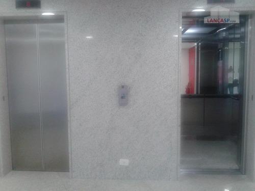 conjunto comercial de 245m² em área nobre de sp. - cj0022