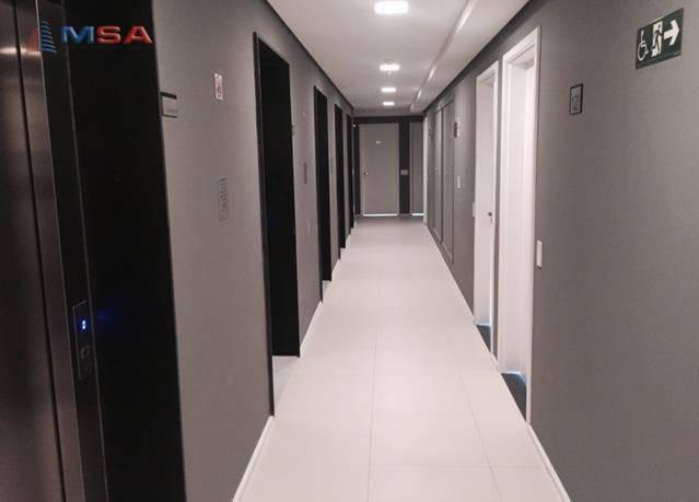 conjunto comercial de 38 m² e 1 vaga próximo ao metrô na barra funda. - cj0364