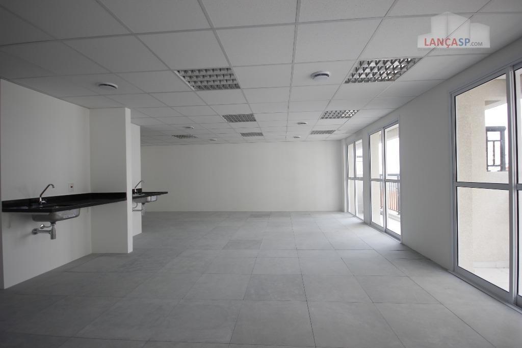 conjunto comercial de 72m² com 2 vaga de garagem no jabaquara, sp. - cj0028