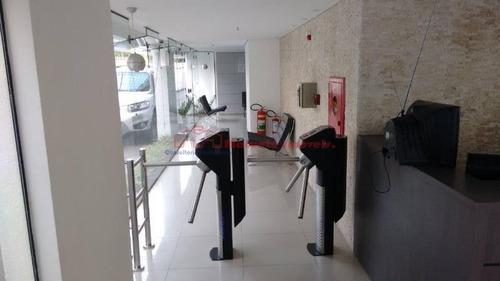 conjunto comercial em condomínio para locação no bairro bela vista, 1 vagas, 40 m² - 1283