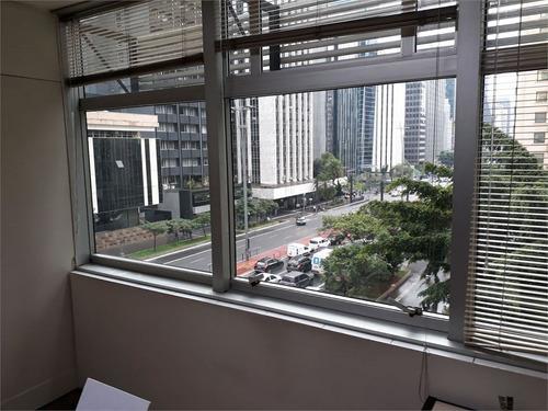 conjunto comercial na av. paulista, anexo ao metrô brigadeiro - 345-im380974