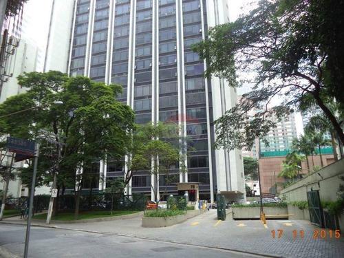 conjunto comercial para locação, cidade monções, são paulo - cj0019. - cj0019