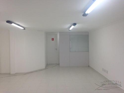 conjunto comercial para locação, vila clementino, são paulo. - cj0006