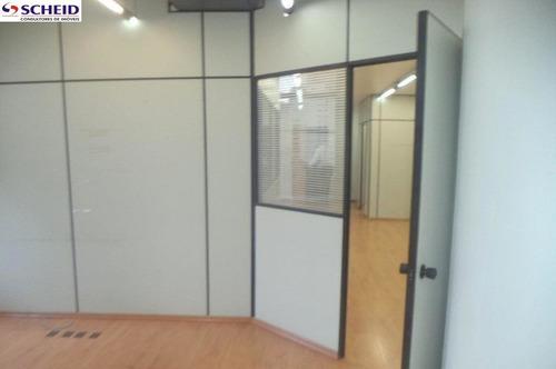 conjunto comercial para venda e locação no brooklin novo - 104 au com 2 vagas - mr56944