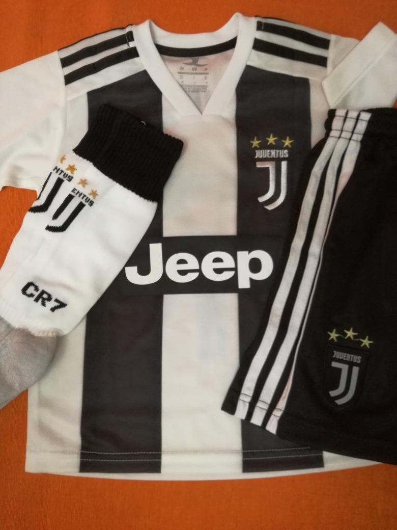 Conjunto Completo Camiseta Short Y Medias Juventus Niños. -   1.500 ... 7de2e257d2021
